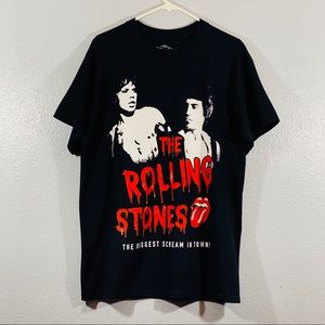 The Rolling Stones Black Large T Shirt